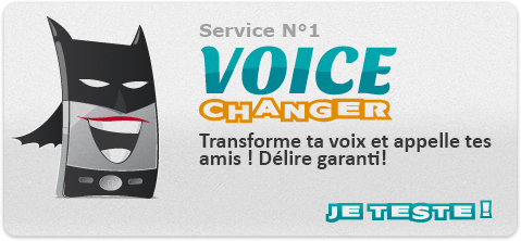 blague voice changer